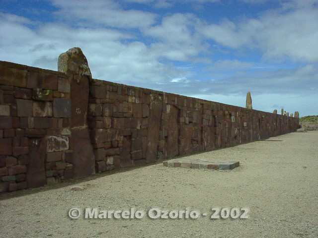 tiwanaku archaeological site bolivia 49 - Tiwanaku, pre-columbian archaeological and world heritage site at Bolivia