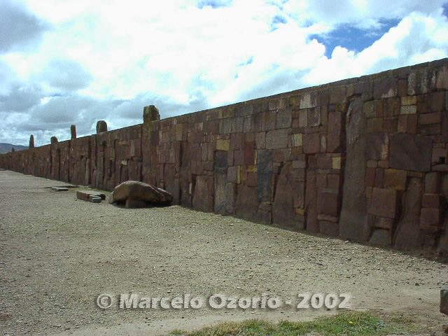 tiwanaku archaeological site bolivia 50 - Tiwanaku, pre-columbian archaeological and world heritage site at Bolivia