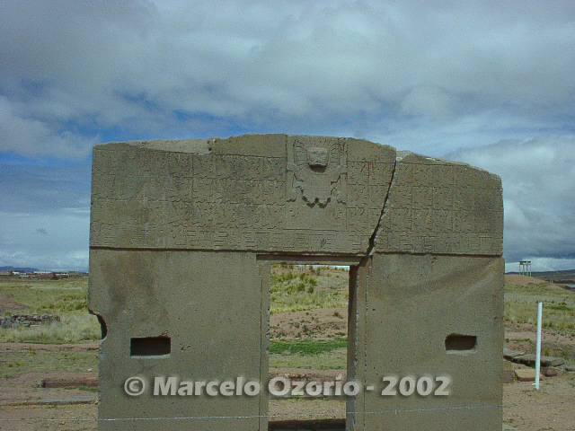 tiwanaku archaeological site bolivia 52 - Tiwanaku, pre-columbian archaeological and world heritage site at Bolivia