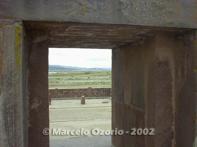 tiwanaku archaeological site bolivia 62 - Tiwanaku, pre-columbian archaeological and world heritage site at Bolivia