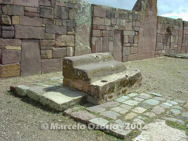 tiwanaku archaeological site bolivia 7 - Tiwanaku, pre-columbian archaeological and world heritage site at Bolivia