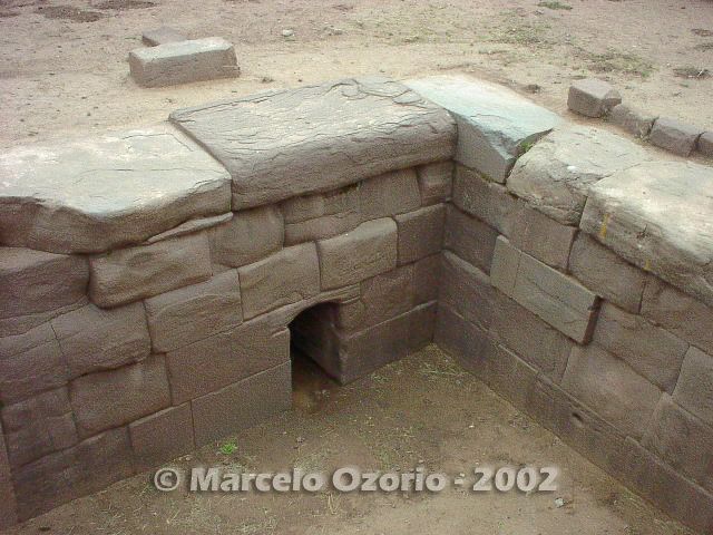 tiwanaku archaeological site bolivia 70 - Tiwanaku, pre-columbian archaeological and world heritage site at Bolivia