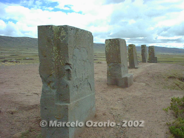 tiwanaku archaeological site bolivia 73 - Tiwanaku, pre-columbian archaeological and world heritage site at Bolivia