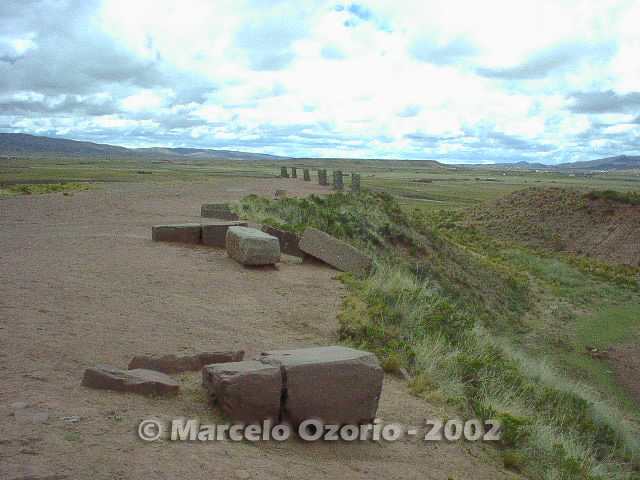 tiwanaku archaeological site bolivia 74 - Tiwanaku, pre-columbian archaeological and world heritage site at Bolivia