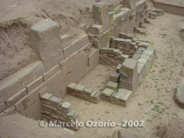 tiwanaku archaeological site bolivia 76 - Tiwanaku, pre-columbian archaeological and world heritage site at Bolivia