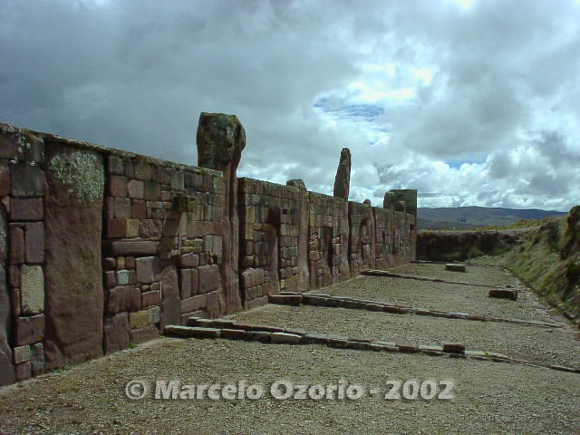 tiwanaku archaeological site bolivia 8 - Tiwanaku, pre-columbian archaeological and world heritage site at Bolivia