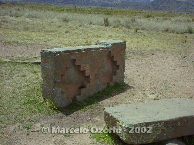 tiwanaku archaeological site bolivia 81 - Tiwanaku, pre-columbian archaeological and world heritage site at Bolivia