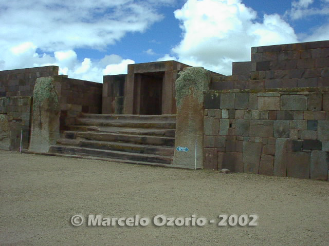tiwanaku archaeological site bolivia 86 - Tiwanaku, pre-columbian archaeological and world heritage site at Bolivia
