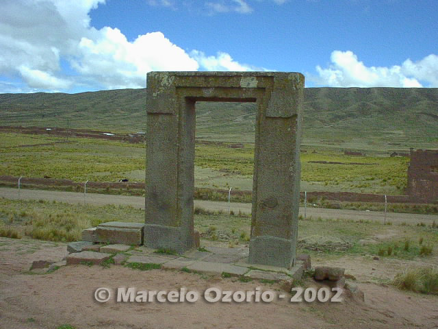 tiwanaku archaeological site bolivia 88 - Tiwanaku, pre-columbian archaeological and world heritage site at Bolivia