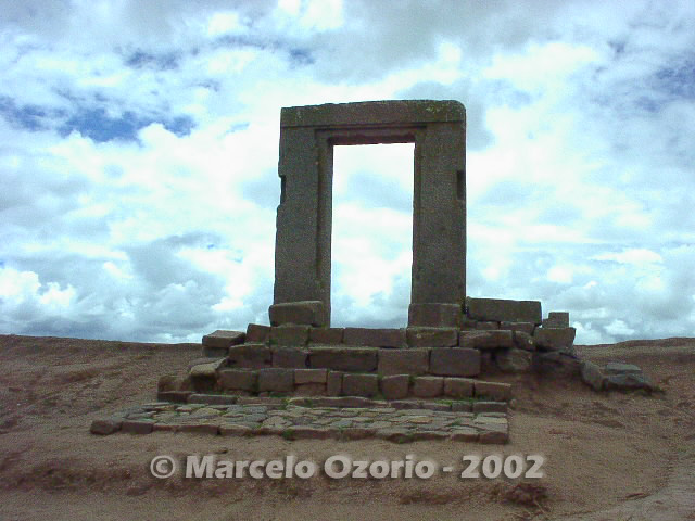 tiwanaku archaeological site bolivia 89 - Tiwanaku, pre-columbian archaeological and world heritage site at Bolivia