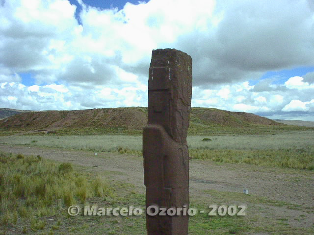 tiwanaku archaeological site bolivia 93 - Tiwanaku, pre-columbian archaeological and world heritage site at Bolivia