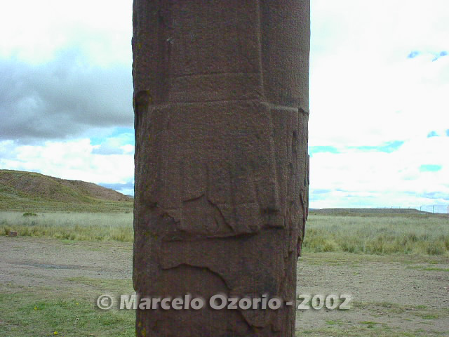 tiwanaku archaeological site bolivia 94 - Tiwanaku, pre-columbian archaeological and world heritage site at Bolivia