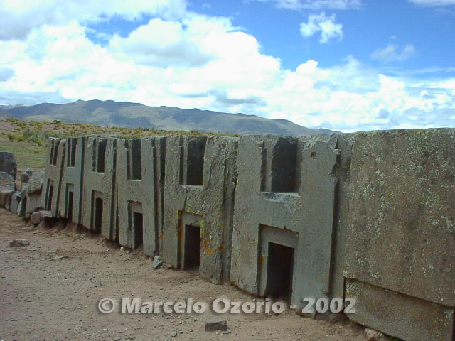 tiwanaku archaeological site bolivia 98 - Tiwanaku, pre-columbian archaeological and world heritage site at Bolivia