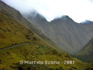 Descent to Valley of Pacaymayo
