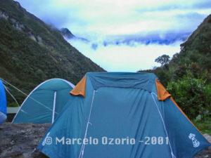 Camping Base at Pacaymayo
