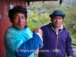 Friendly Peruvian Porters