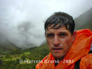 Marcelo Ozorio at the Camping Base of Pacaymayo