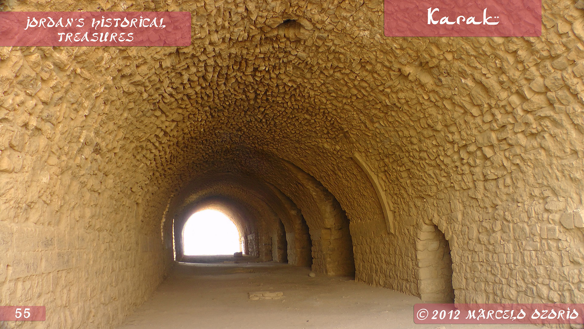 Karak Castle – King's Highway – Jordan