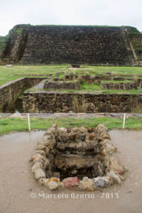 building P monte alban 15 200x300 - Monte Alban, capital of ancient Zapotec Civilization. Archaeological site at Oaxaca, Mexico