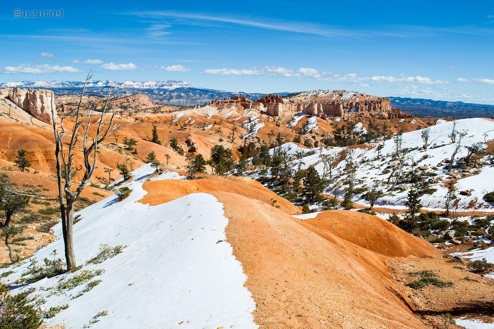 Bryce Canyon National Park in Winter | Utah, USA | feb 2014