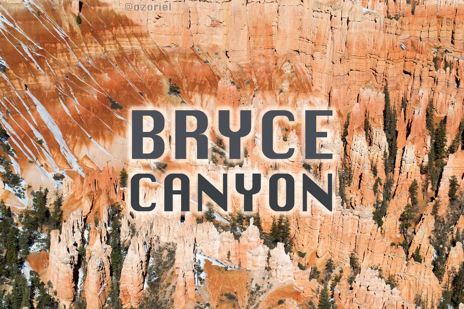 bryce canyon utah2 - O Singular Cânion Bryce - Utah - EUA