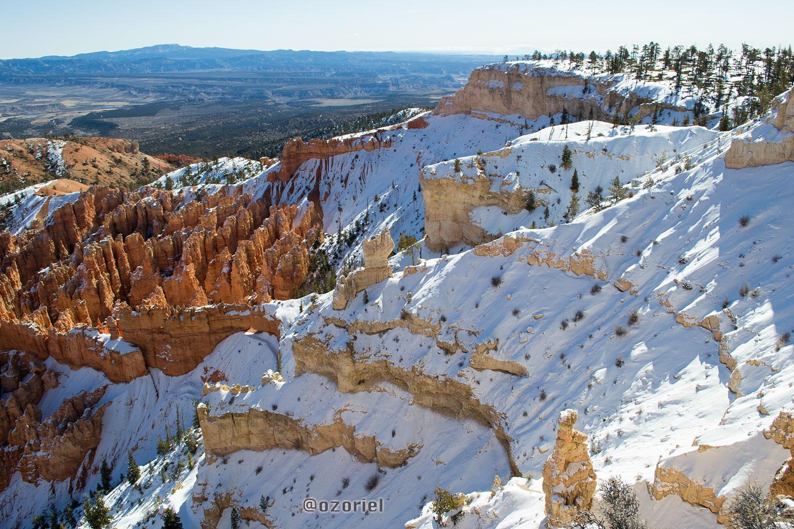 Beautiful Landscape at Bryce Canyon National Park | Utah, USA | feb 2014