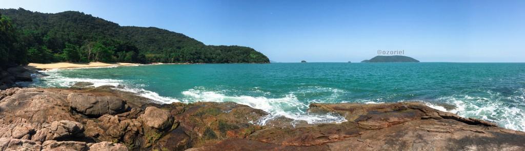 ubatuba brazilian tropical beaches 2 1024x295 - Esfrie a Cabeça nas Praias Tropicais de Ubatuba - Brasil