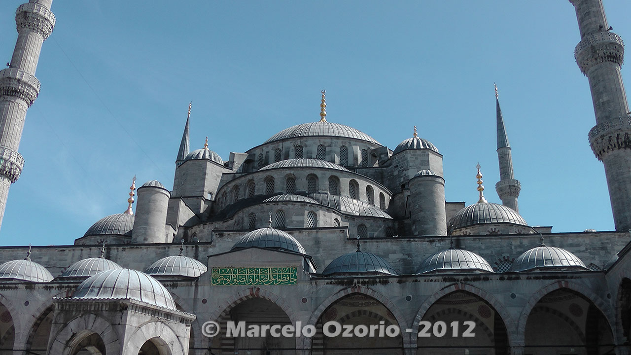 Sultan Ahmed Blue Mosque at Istanbul