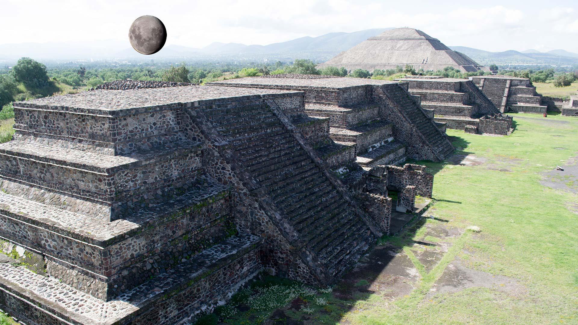 Pirâmides de la Luna - Teotihuacan - Mexico