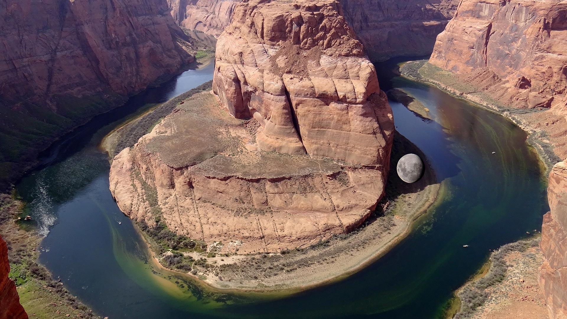 U-Shape Colorado River - Page - Arizona