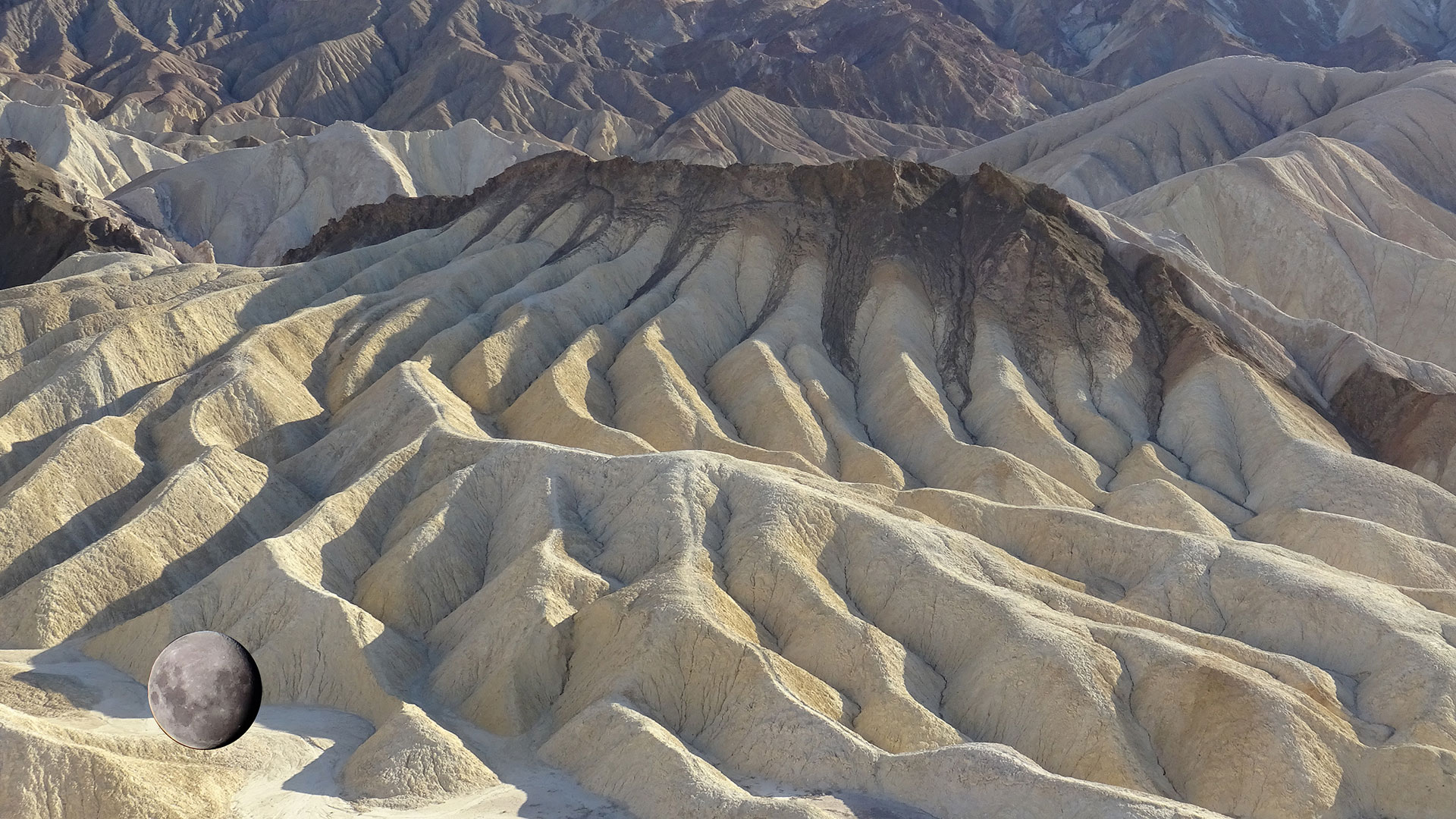Mirante Zabriskie Point - Vale da Morte - California