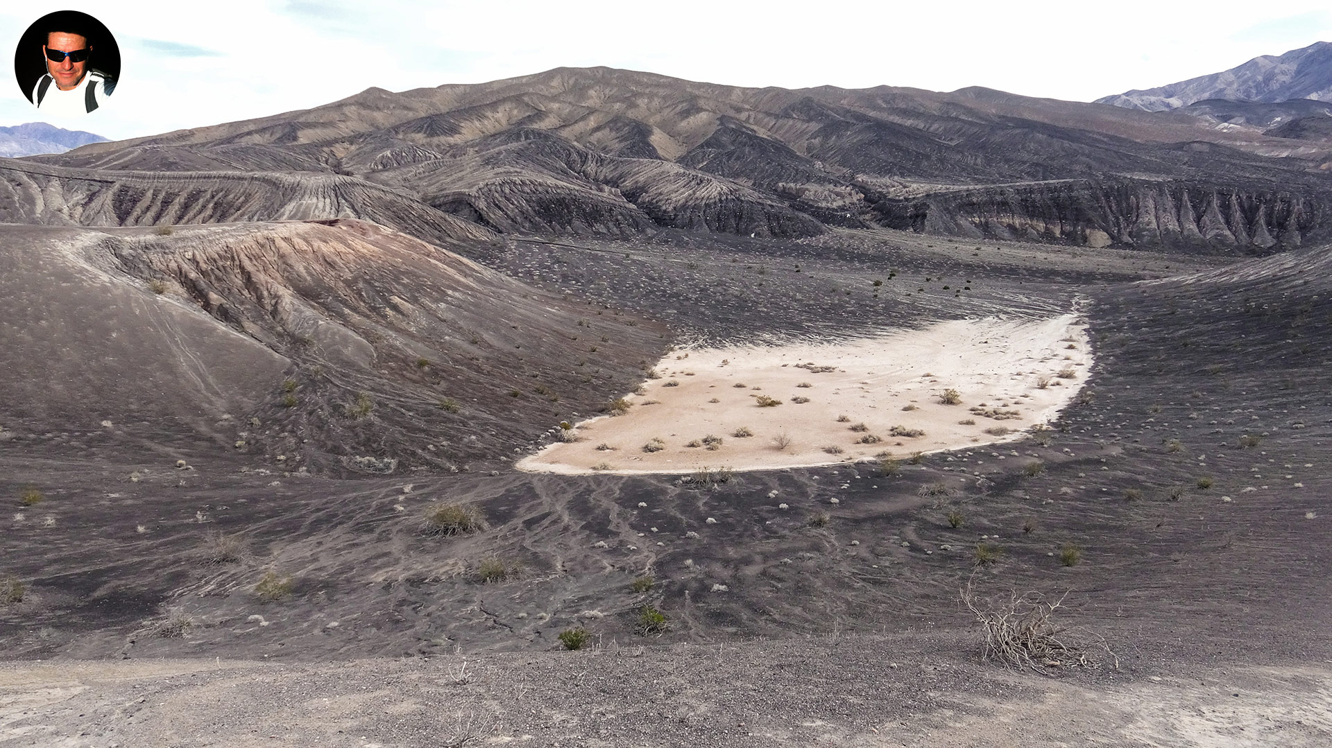 a secondary crater at ubehebe