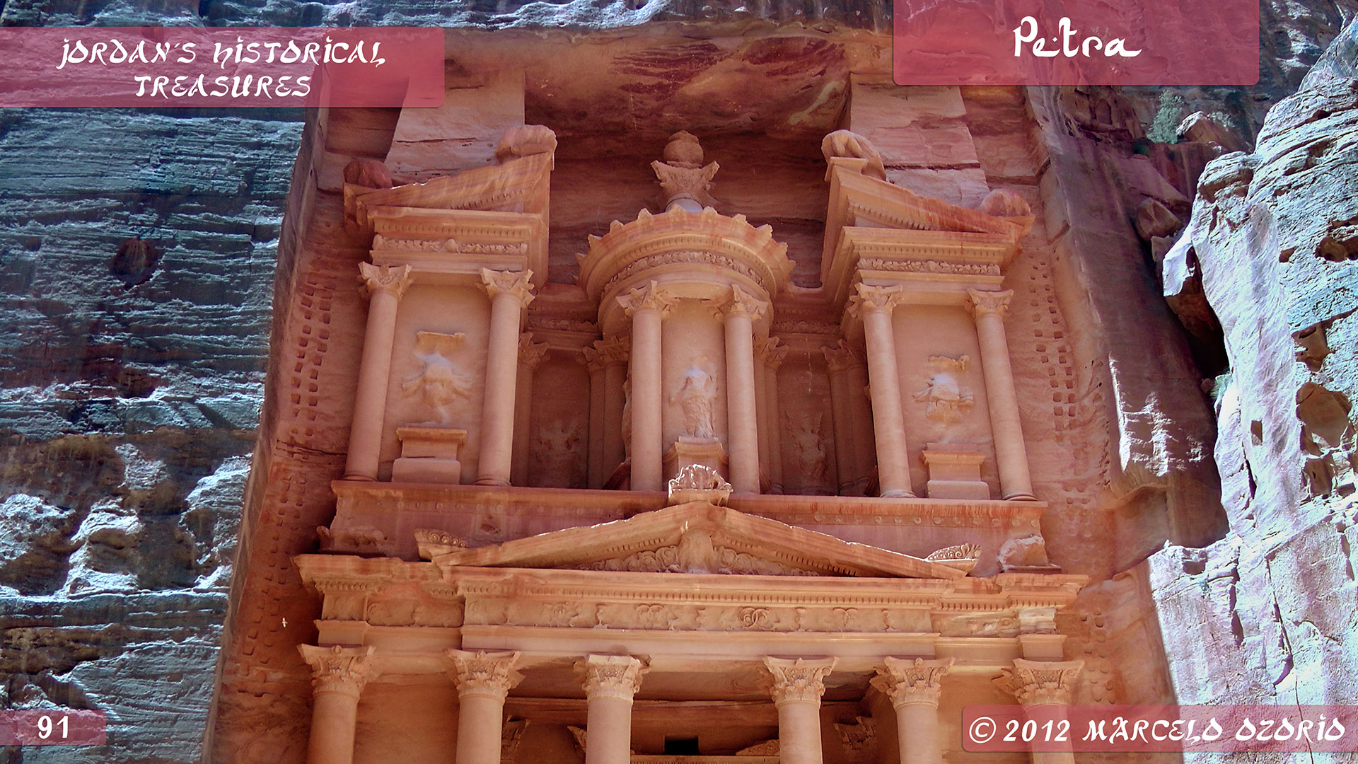 Petra Archaeological City Jordan 11 - The Astonishing Treasure at Petra - Jordan
