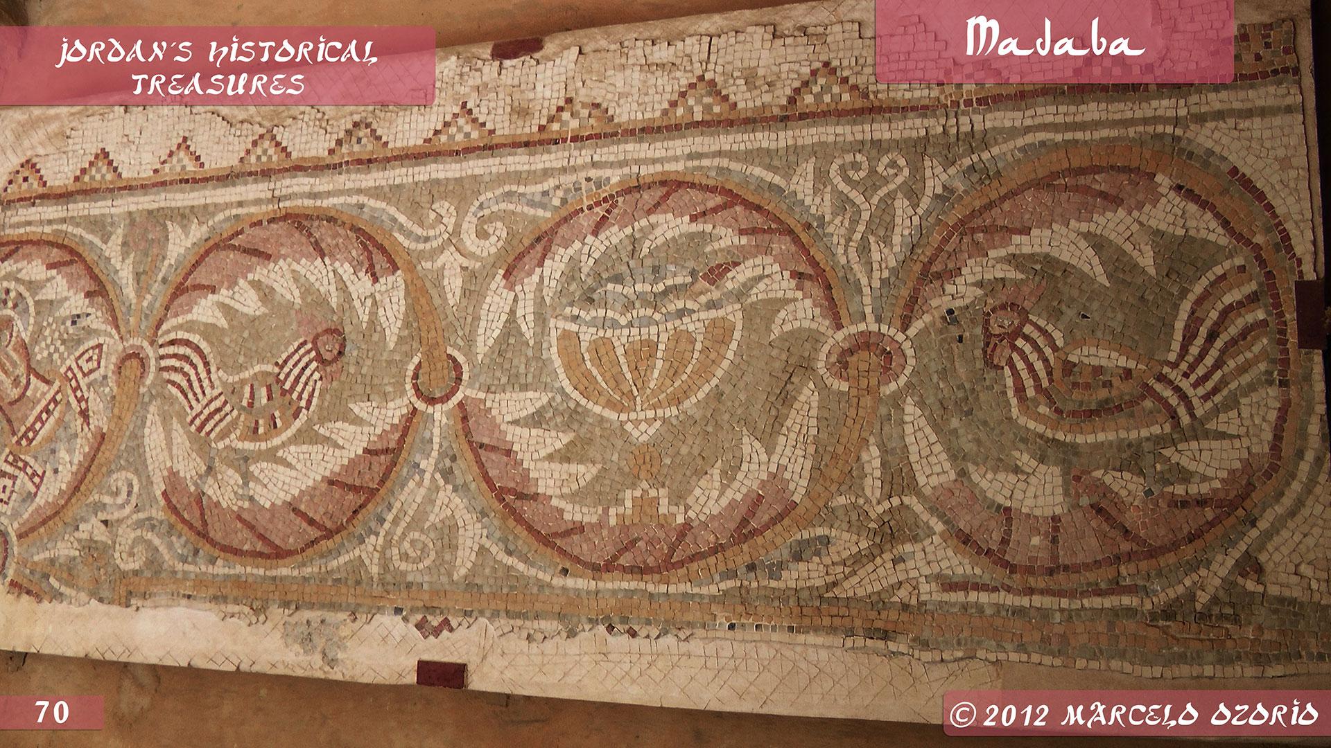 Madaba Mosaics Jordan 7 - Madaba, Mosaicos da Era Bíblica