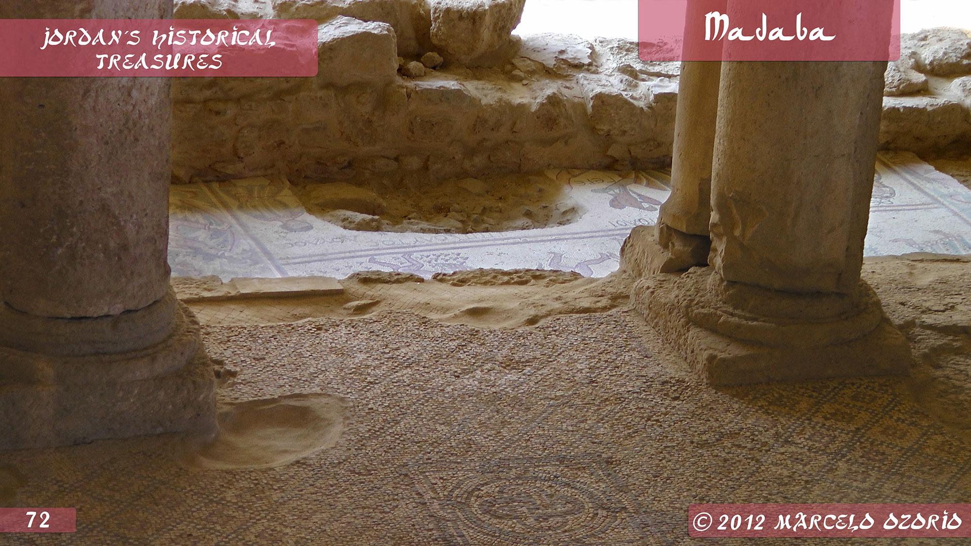 Madaba Mosaics Jordan 9 - Madaba, Mosaicos da Era Bíblica