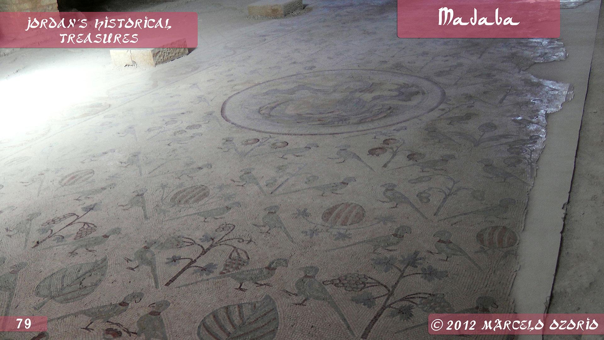 Madaba Mosaics Jordan 16 - Madaba, Mosaicos da Era Bíblica