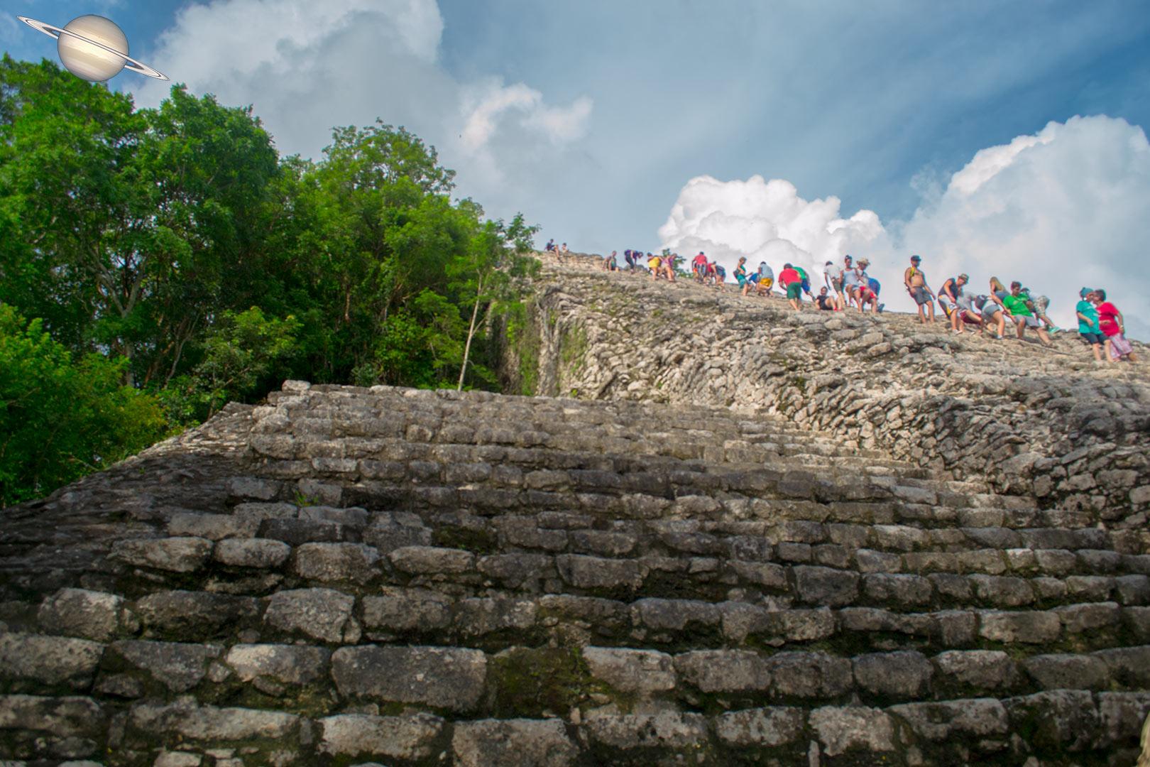 coba yucatan mexico 7 - Suba uma Pirâmide em Coba, Antiga Cidade Maia, México