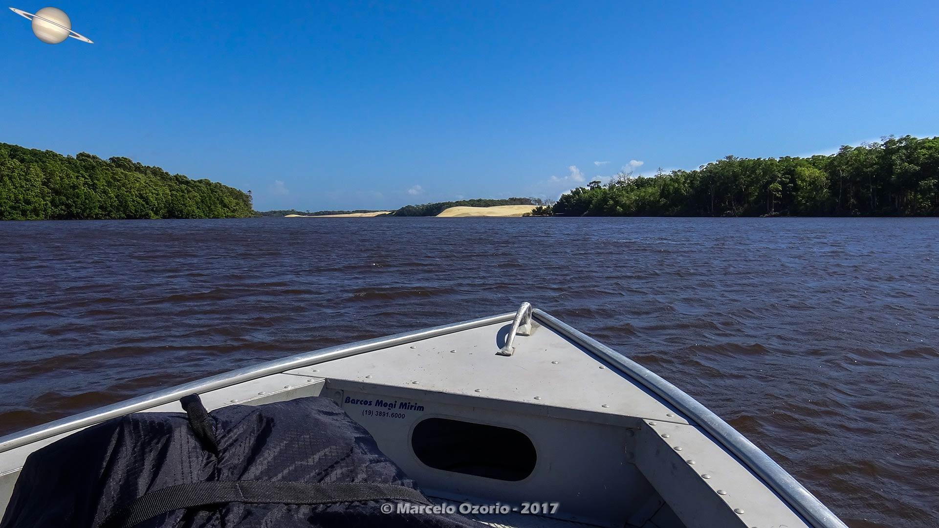 Descendo pelo Rio Preguiças até Lençóis Maranhenses