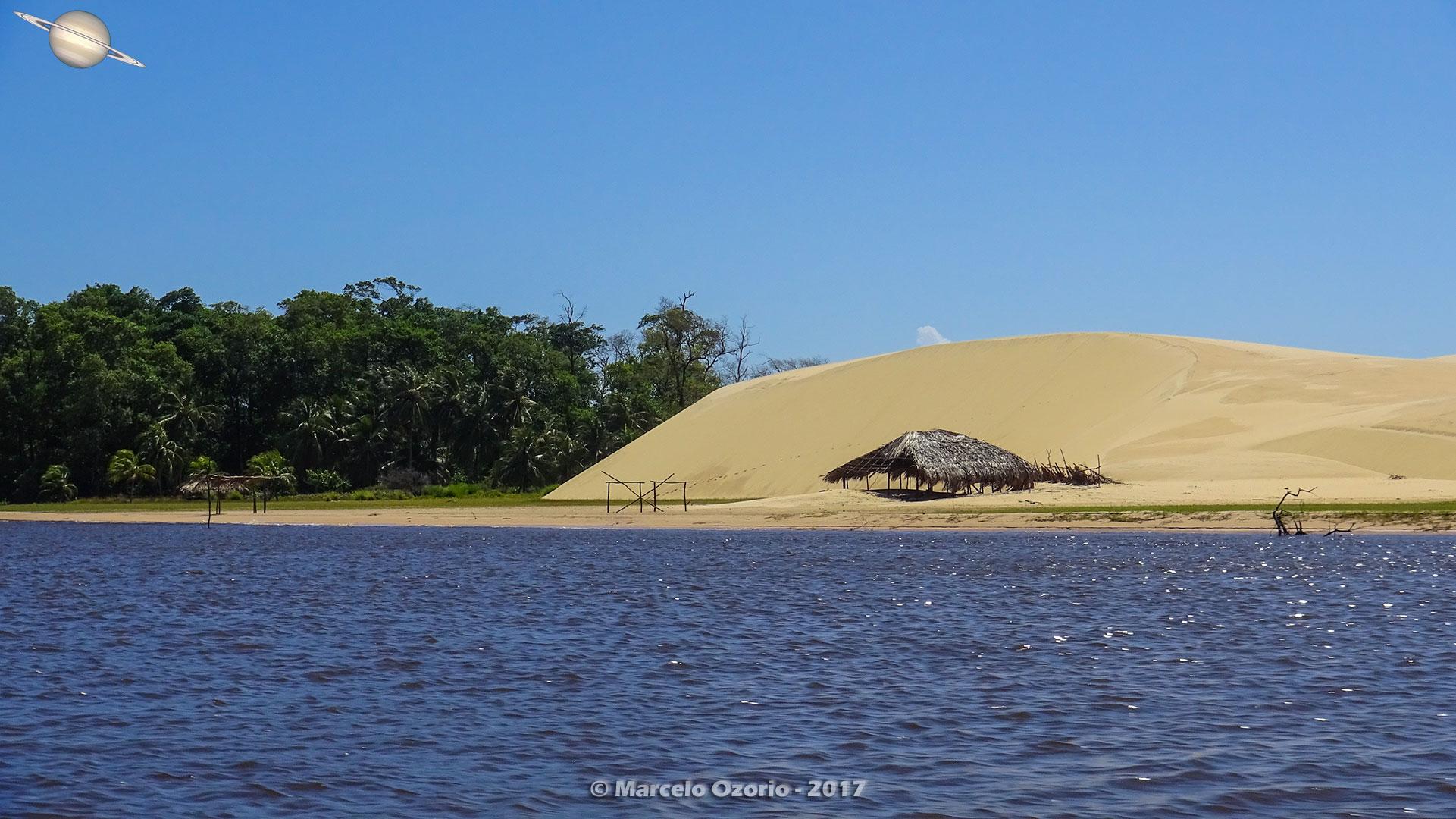 barreirinhas descendo rio preguicas atins 18 - De Barreirinhas à Canto do Atins. Trekking nos Lençóis Maranhenses - Brasil