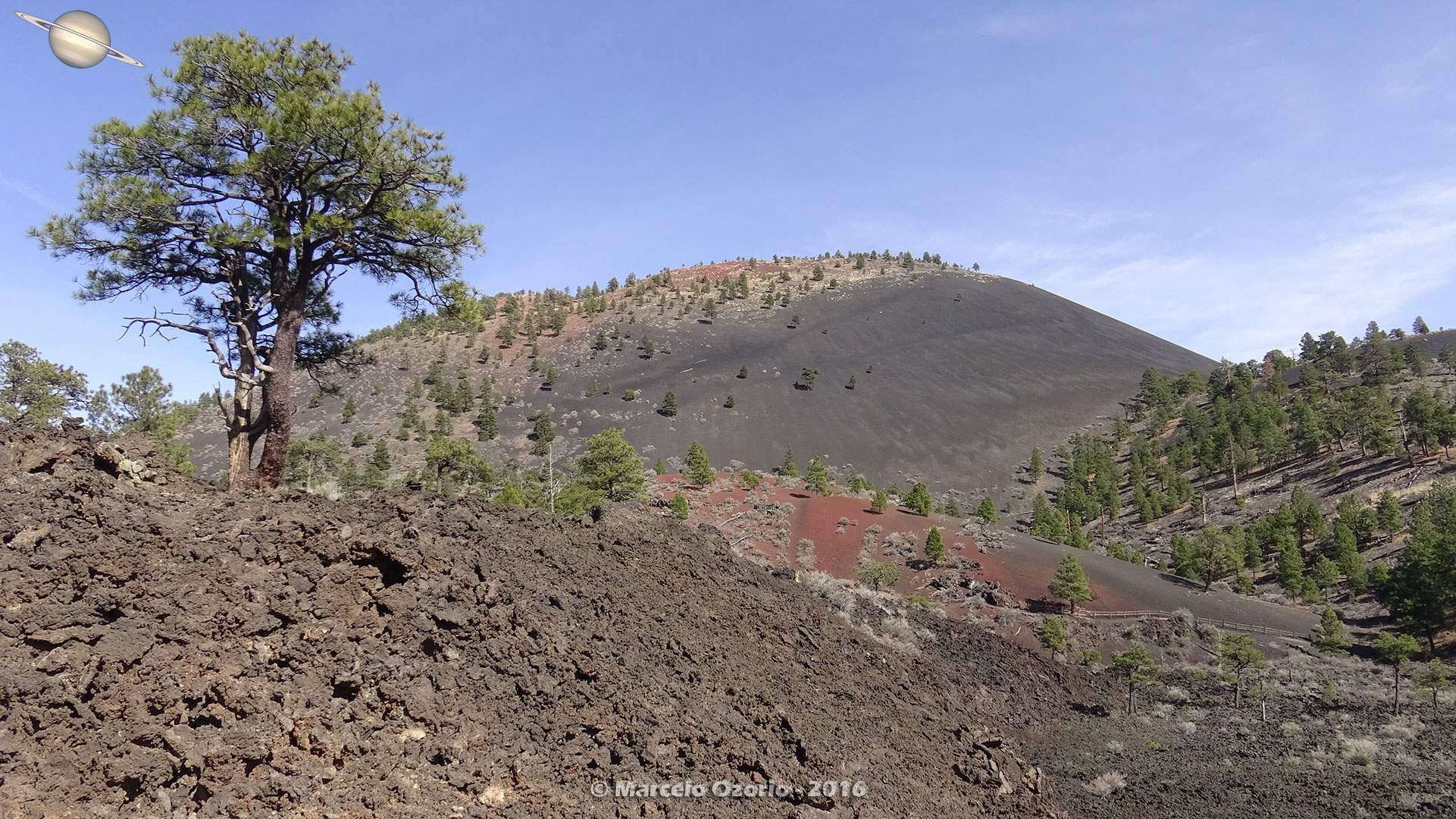 Sunset Crater Volcano Arizona 29 - Frozen Lava Fields at Sunset Crater Volcano - Arizona