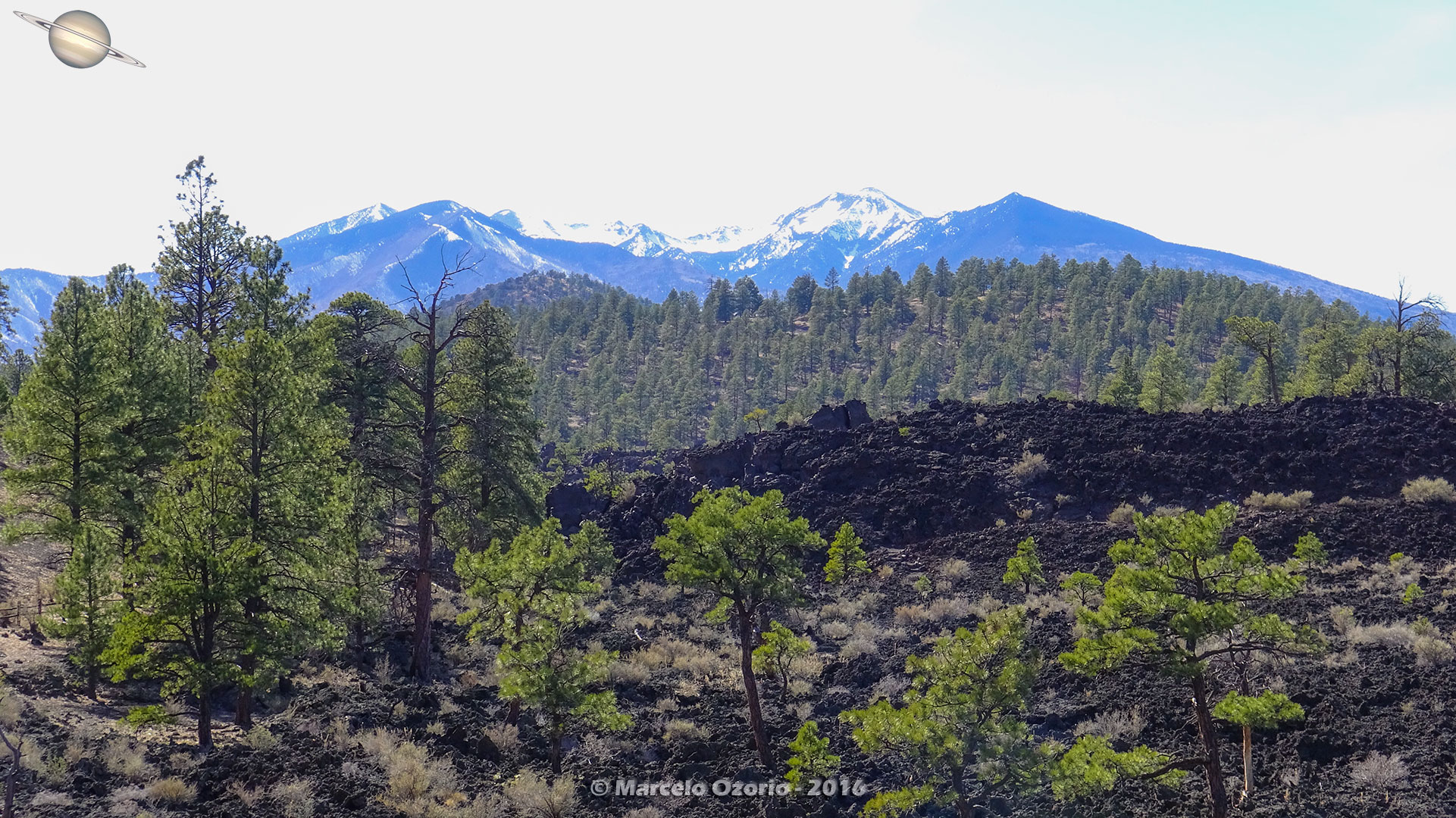 Sunset Crater Volcano Arizona 30 - Frozen Lava Fields at Sunset Crater Volcano - Arizona