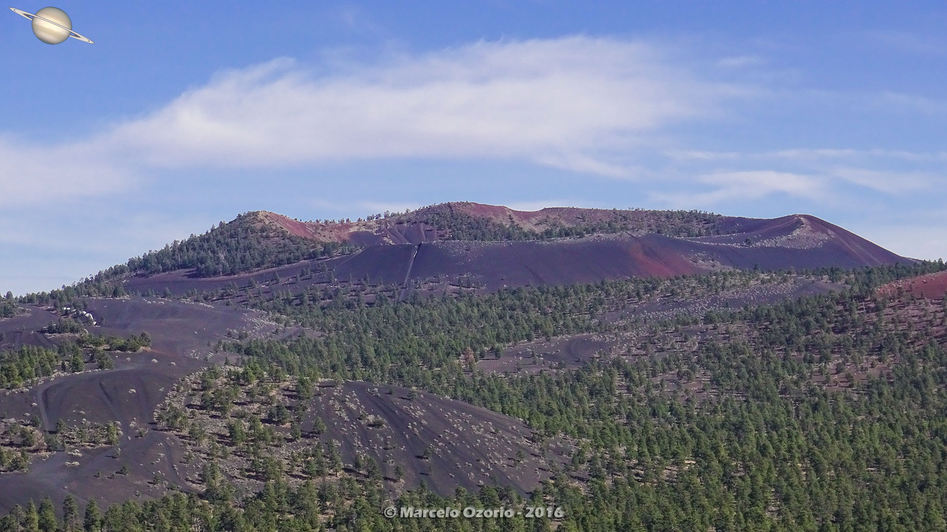 Sunset Crater Volcano Arizona 33 - Frozen Lava Fields at Sunset Crater Volcano - Arizona