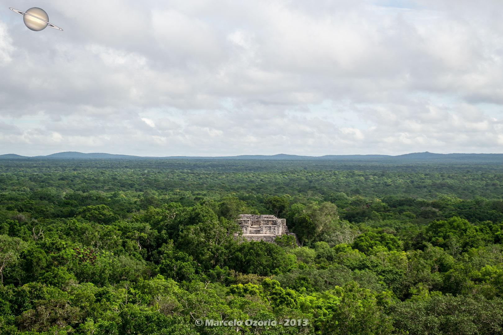 calakmul mayan civilization mexico 12 - Calakmul, City of the Two Adjacent Pyramids - Mexico