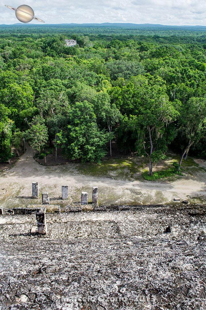 calakmul mayan civilization mexico 13 - Calakmul, City of the Two Adjacent Pyramids - Mexico