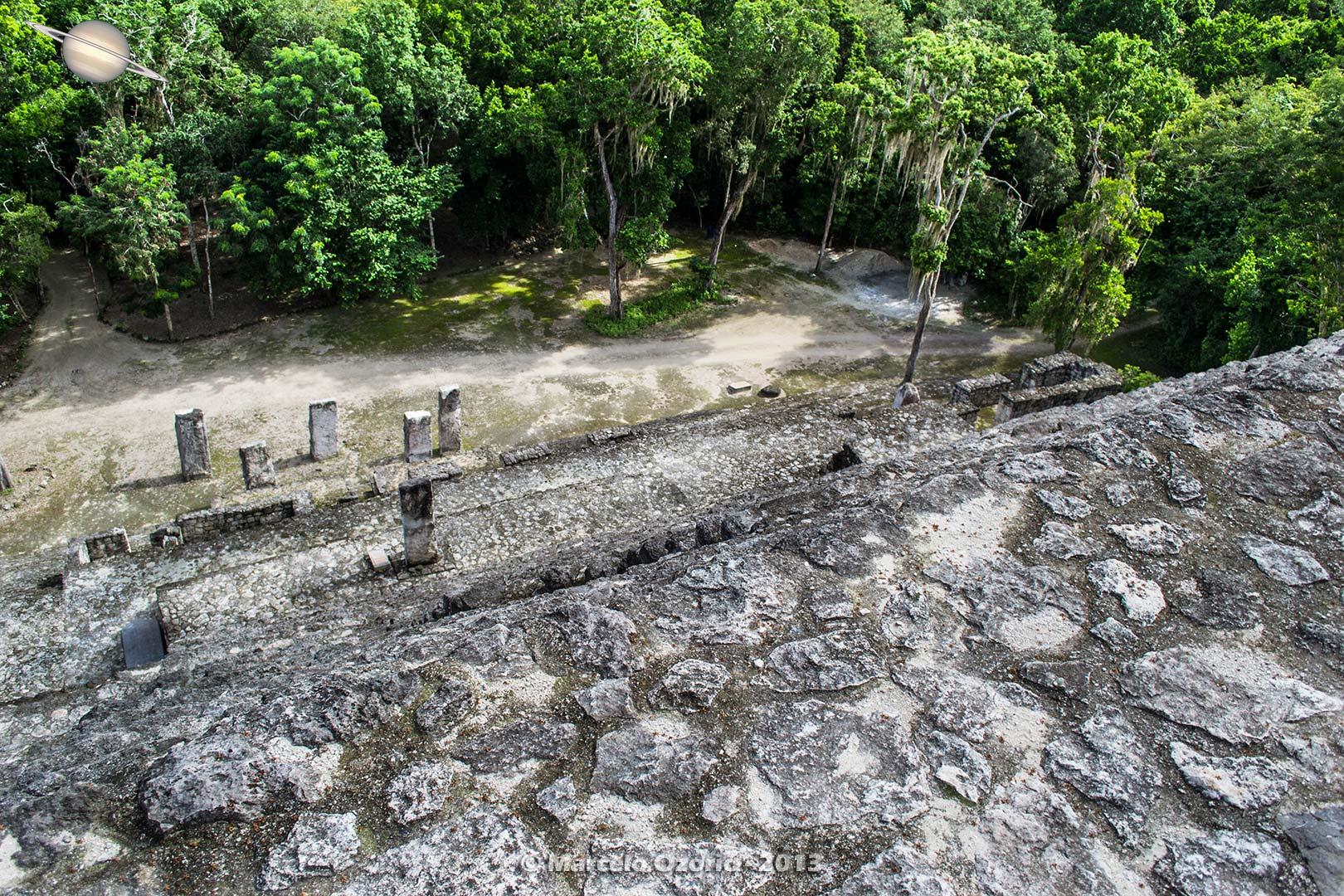 calakmul mayan civilization mexico 14 - Calakmul, City of the Two Adjacent Pyramids - Mexico