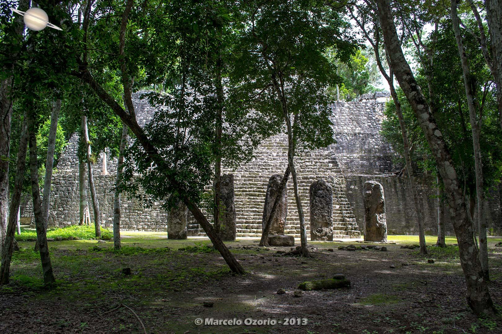 calakmul mayan civilization mexico 21 - Calakmul, City of the Two Adjacent Pyramids - Mexico