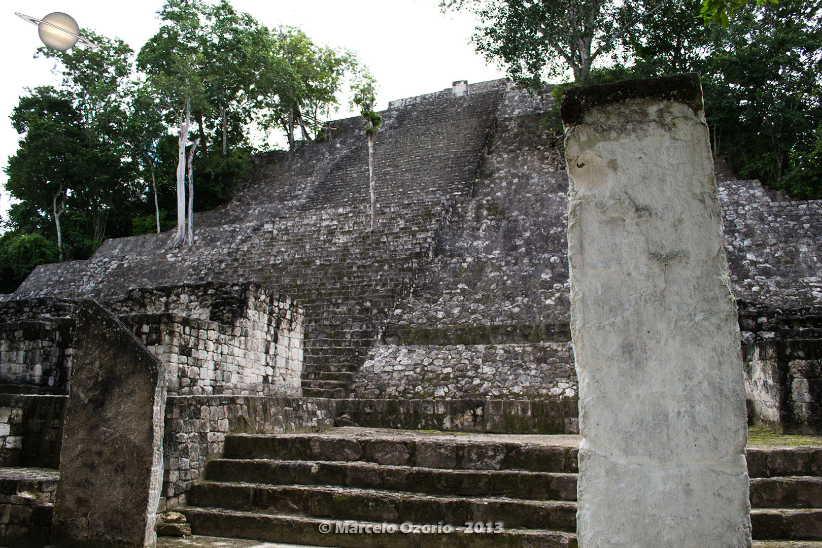 calakmul mayan civilization mexico 26 - Calakmul, City of the Two Adjacent Pyramids - Mexico