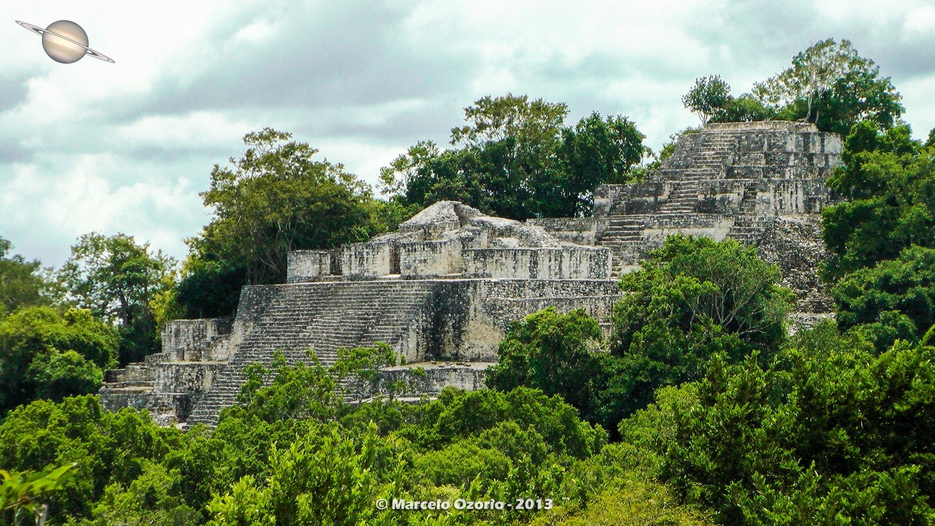 calakmul mayan civilization mexico 45 - Calakmul, City of the Two Adjacent Pyramids - Mexico