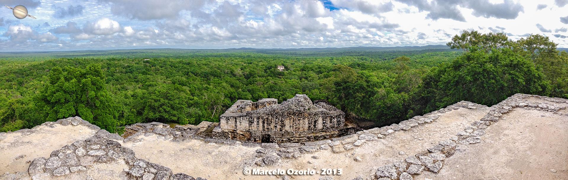 calakmul mayan civilization mexico 46 - Calakmul, City of the Two Adjacent Pyramids - Mexico