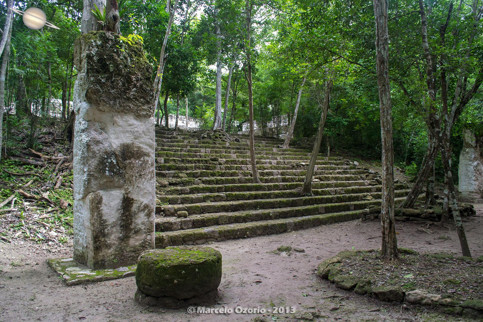 calakmul mayan civilization mexico 2 - Calakmul, City of the Two Adjacent Pyramids - Mexico